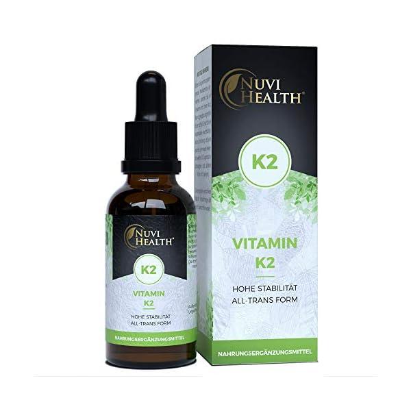 Vitamin K2 Tropfen flüssig MK-7 kokosöl 200
