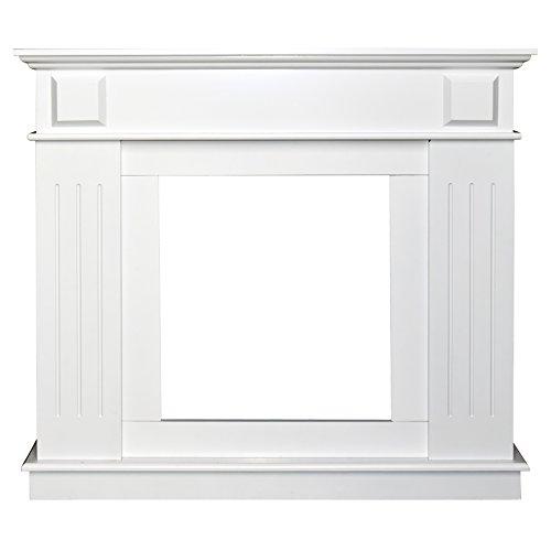 Rebecca Srl Rahmen Dekoration Kamin MDF-Platte Holz weiß klassisch Esszimmer (Code 0-3759)
