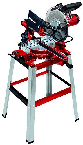 Einhell Zug-Kapp-Gehrungssäge TC-SM 2531/1 U (1.900 W, 4.800 U/min, integrierte Zugfunktion f. Werkstücke bis 310 mm Breite, integrierter Laser, inkl. hochwertigem Hartmetall-Präzisionssägeblatt)