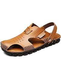 Xue Scarpe da Uomo in Pelle Primavera Estate Comfort Suole Leggere Sandali  Ciabatte 50b9a6dab69