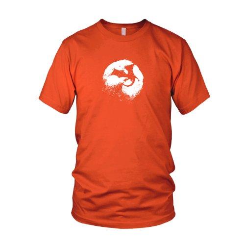 Night of Dragons - Herren T-Shirt Orange