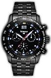 Traser T4004.357.37.01 Chrono Big Date Pro Bleu, Montre chronographe