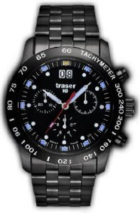 Traser Traser H3 Classic Chronograph Big Date Pro Blue T4004.357.37.01