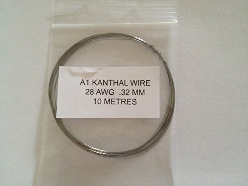 Kanthal A1 Widerstand Draht 28 AWG 0,32 mm 10 Meter Rabba ...