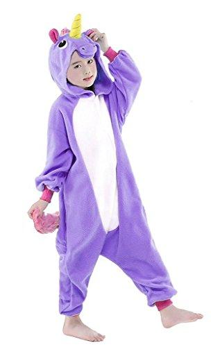 Auspicious beginning Einhorn Pyjamas Tier Nachtwäsche Cosplay Kostüm für Kinder