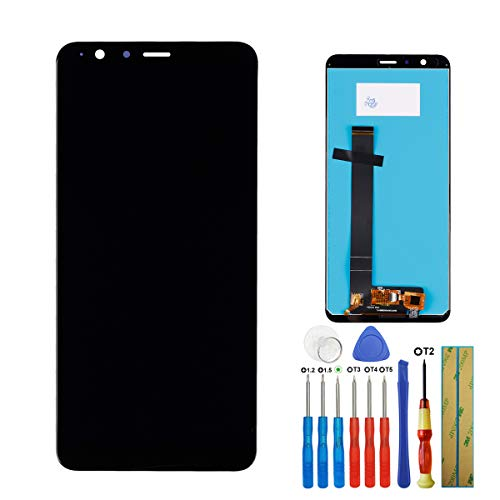E-yiviil Display Compatibile con ASUS ZenFone Max Plus M1 ZB570TL X018D X018DC LCD Touch Screen Display Assembly with Tools