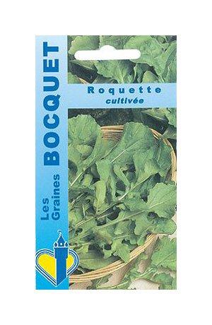 Les Graines Bocquet - Graines De Roquette Cultivée - Graines Potagères À Semer - Sachet De 5Grammes