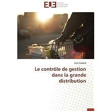 Le contrôle de gestion dans la grande distribution