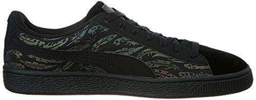 Puma Basket Swan Donna Sneaker Nero Nero