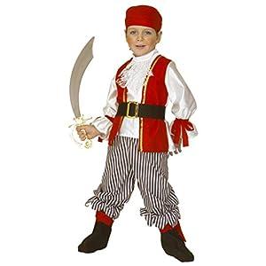WIDMANN Widman - Disfraz de pirata para niño, talla 110 cm (ART4381S)