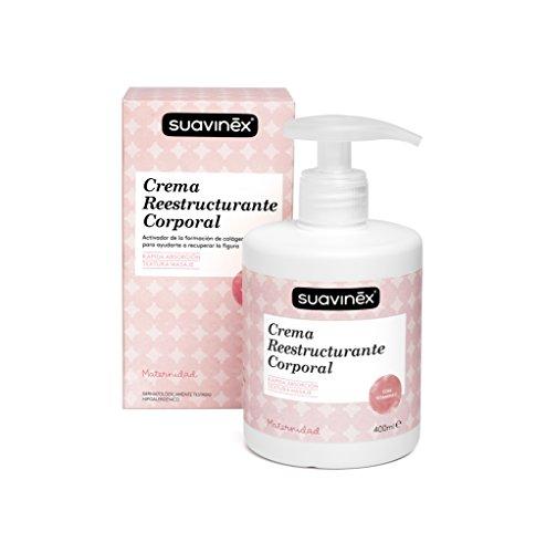 Suavinex 303795 - Crema reestructurante corporal, 400 ml