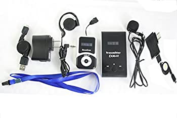 Exmax Atg-100t 72mhz-76mhz Professional Transmitter For Wireless Tour Guide Systemmonitoring System,wireless Tour Guide System For Teaching, Tour Guides, Conference (1 Transmitter 100 Receivers) 8
