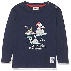 Salt & Pepper B Longsleeve Pirat Uni Print Camiseta de Manga Larga Unisex bebé 11