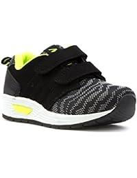 New Womens Mercury Flat Black Sport Fashion Trainers Joggers Shoes Size 3-8 UK