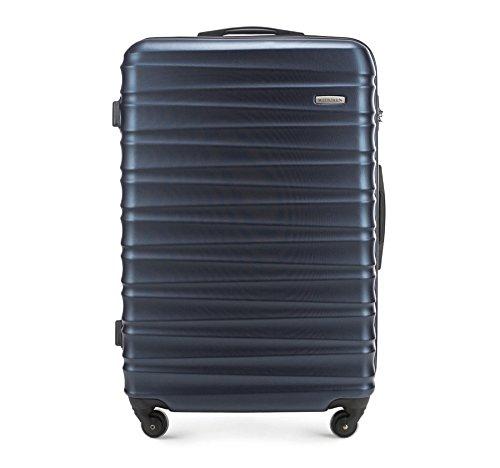 WITTCHEN Grande valigia | Colore: Blu | Materiale: ABS | Dimensioni: 29x77x52 | Peso: 4,1 kg | Capacità: 96 L - 56-3A-313-90