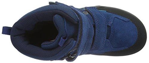 Ecco Xpedition, Chaussures Multisport Outdoor Garçon Bleu (POSEIDON-BLACK59656)