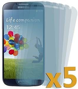 DONZO® Etuis für Samsung Galaxy S4GT-i9500/GT-I9505LTE, durchsichtig, SCREEN PROTECTOR