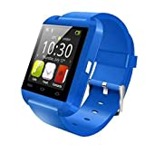 Sisaki Bluetooth Sport Smart Watch, Fitness Tracker Aktivität Tracker Herzfrequenzmessung am Handgelenk Wasserdicht Fitness Uhr mit GPS Schlaftracker Kalorienzähler