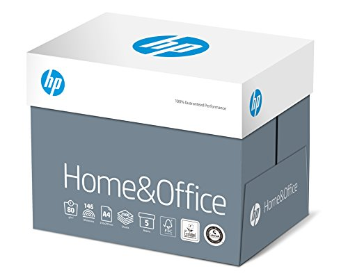 HP Kopierpapier CHP150 Home und Office A4 80g, 2.500 Blatt, 5 Pack = 1 Karton