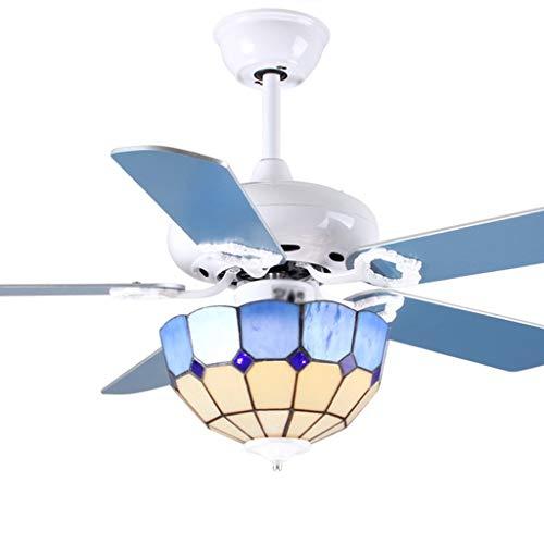Araña ventilador sencillo comedor dormitorio iluminación luz Ventilador de techo Salón Restaurante...