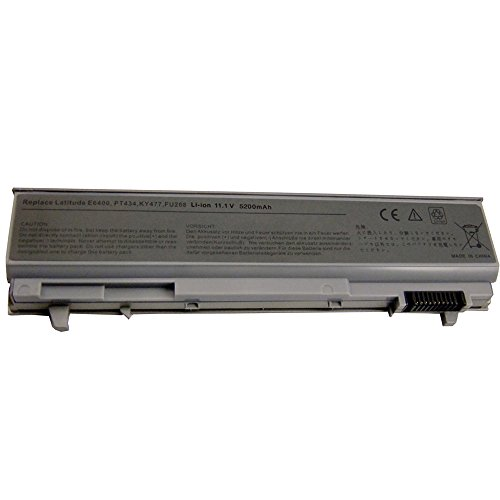5200mah Notebook Laptop Batterie Akku für Dell Latitude E6400 E6410 E6500 E6510 ATG Precision M2400 M4400 M4500 MP490 PT434 PT435 PT436 PT437 KY265 KY266 Battery