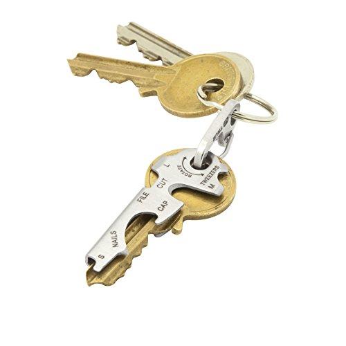 41wJKE1loeL. SS500  - KeyTool 8-in-1 Keyring Multi-tool, True Utility