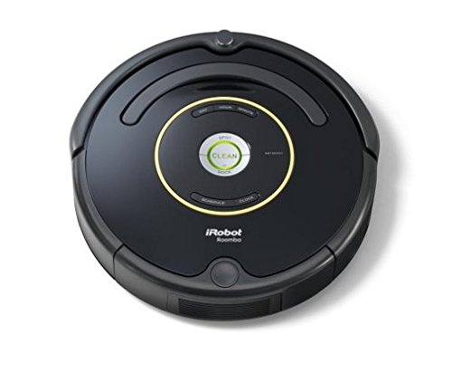 iRobot Roomba 650 Aspirateur Robot, système de nettoyage puissant avec Dirt Detect, aspire tapis, moquettes et sols durs, idéal pour les poils d'animaux, nettoyage sur programmation, no