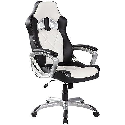 Sedia da ufficio Poltrona Sedia da Computer sedia con schienale