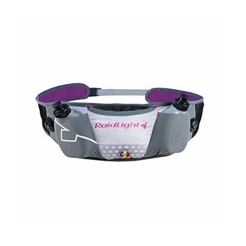 Raidlight cinturón lazerdry Frambuesa y blanca Made in France cinturón Running