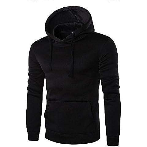 Coversolate Hombres sudadera con capucha Retro Tops Outwear chaqueta de manga larga con capucha