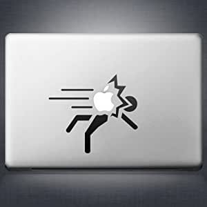 Macbook Air 11 13 and Macbook 13 15 inch decal sticker (autocollant) Portal Hit Man Apple Laptop