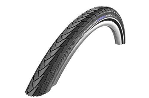 Schwalbe Fahrrad Reifen Marathon Plus ENC//alle Größen, Ausführung:schwarz Reflex, Drahtreifen, Dimension:37-622 (28×1,40´´)