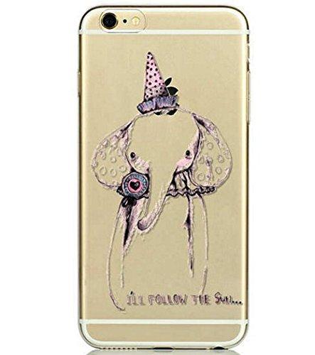 Coque RIGIDE de qualite IPHONE 5/5s - Kiss paris cat love fraise amour elephant dream drole design Swag motif 10 DESIGN case+ Film de protection OFFERT 8