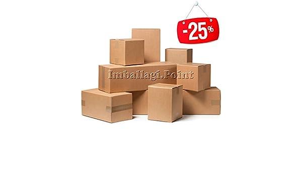 5 pezzi SCATOLE CARTONE LUNGHE x PRODOTTI LUNGHI ROTOLI TAPPETI TUBI 90x20x20cm