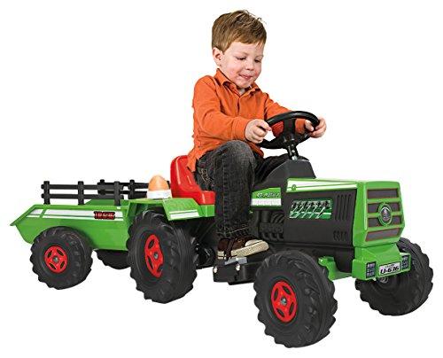 Injusa - Tractor Basic 6 V con sonidos y luces (636)