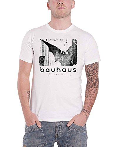 Bauhaus T Shirt Bela Lugosis Dead Single Band Logo Nue offiziell Herren