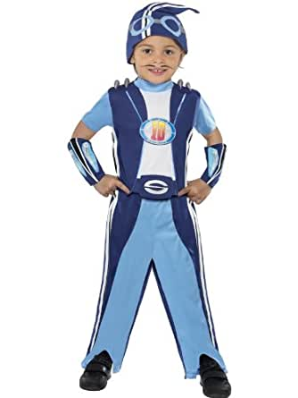 Lazy Town Dress-Up Childrens Fancy Dress Sportacus Costume Small Age 4-6