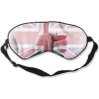 Sleep Eye Mask Great Britain National Flag Lightweight Soft Blindfold Adjustable Head Strap Eyeshade Travel Eyepatch preisvergleich bei billige-tabletten.eu