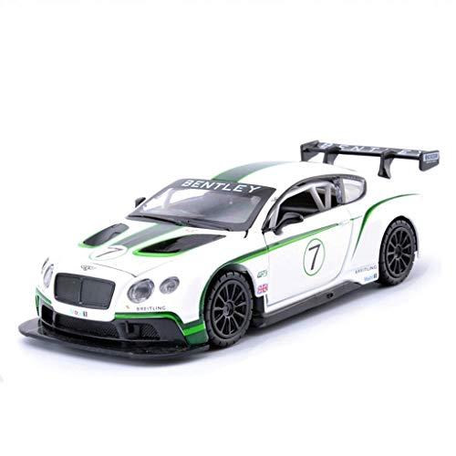 GXL- Simulazione Lega Modello di Auto Modello statico Modello di Auto Regalo Gioielli Modello Bentley Continental Racing Modello 1:32