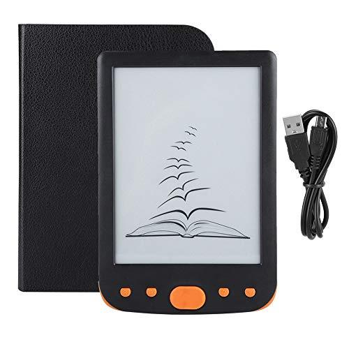 Ebook Reader, 6 Pollici 800 * 600 Massimo 32 GB TF Card Pratico Portatile alla Moda Personalizzato per Lettore di Libri elettronici di Facile Lettura(#2)