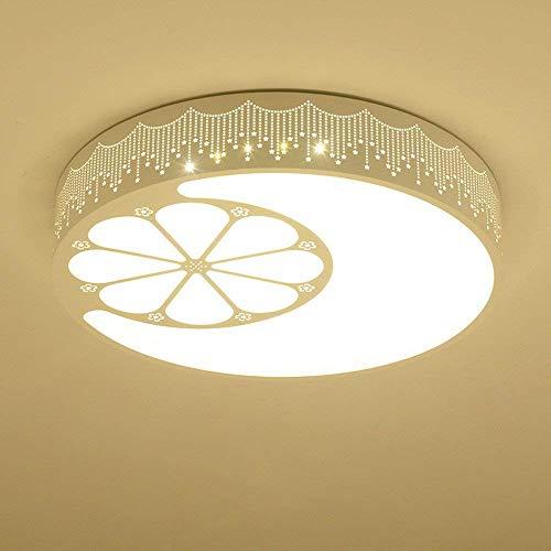GWFVA Kinder Beleuchtung deckenleuchte Moderne Kinder Lampe led Kreis Wohnzimmer weißes licht 50 cm -