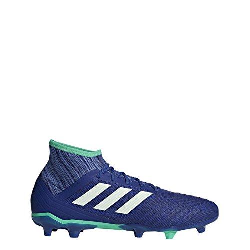 Adidas Predator 18.2FG Hartböden Erwachsener 42.7Fußball Schuh Fußballschuh (Hartböden, Erwachsener, männlich, Sohle mit Dübel, Blau, Einfarbig) (Erwachsener Fußball-ausrüstung)