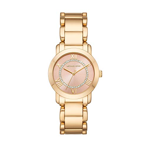 Michael Kors Classic Damen-Armbanduhr Armband Edelstahl + Gehäuse Quarz MK3636