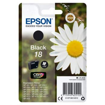 Epson C13T18014022 Inchiostro, Nero