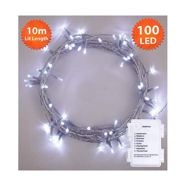 100 Bright White Clear Cable 41wJUFw7pkL
