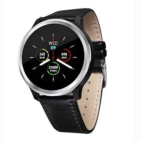 ERTO Smartwatch Fitness Tracker Armband Uhr SchrittzäHler Uhren Smart Watch EKG-Smart-Uhr-EKG Sport Wasserdicht Hrv Bericht Blutdruck Herzfrequenz-Test