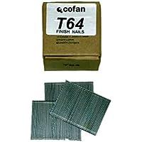 Cofan 09000053 - Pack de 2500 clavos con cabeza (25 mm x 1,4 mm x 1,6 mm)