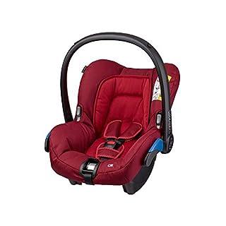 Maxi-Cosi Citi Babyschale, federleichter Gruppe 0+ Kindersitz (0-13 kg), nutzbar ab der Geburt bis 12 Monate, Robin Red