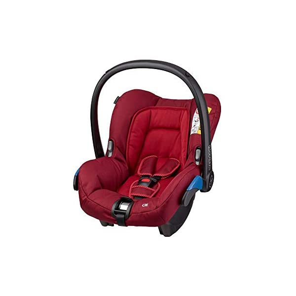 Maxi-Cosi Kinderautositz Citi Robin Red Maxi-Cosi Side protection system, guarantees optimal protection in the event of a side impact Lightweight, light weight and ergonomically shaped safety bar for use as carrying handle Practical travel system 1