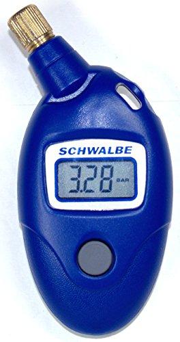 Schwalbe Airmax Pro Luftdruckprüfer bis 11 bar (Reifendruck-messgerät Presta)